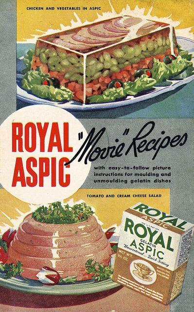 "Royal Aspic ""Movie"" Recipes"