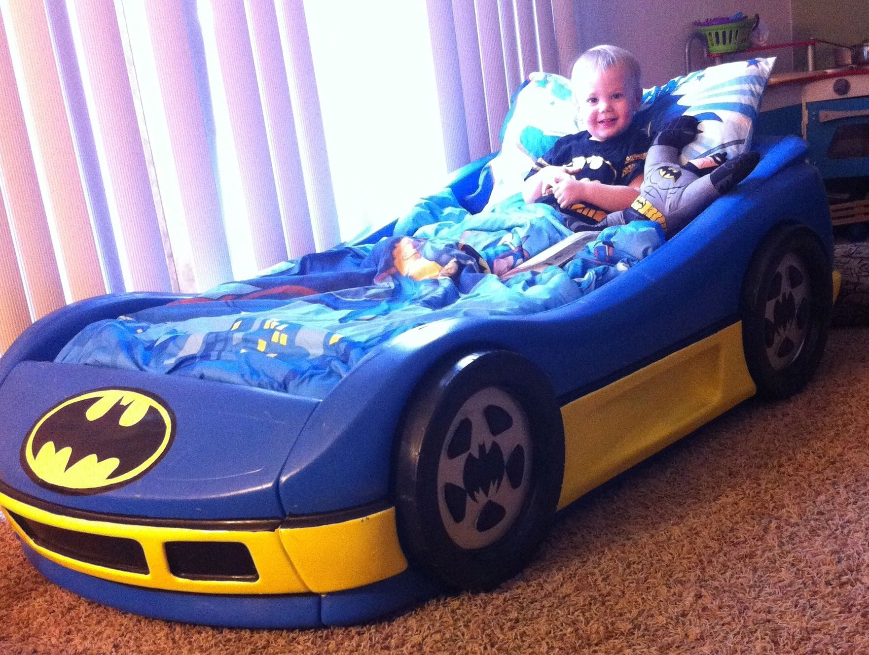DIY kids Batman car bed unique designs