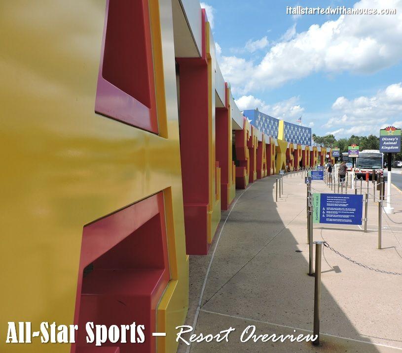 AllStar Sports Resort Overview Disney destinations
