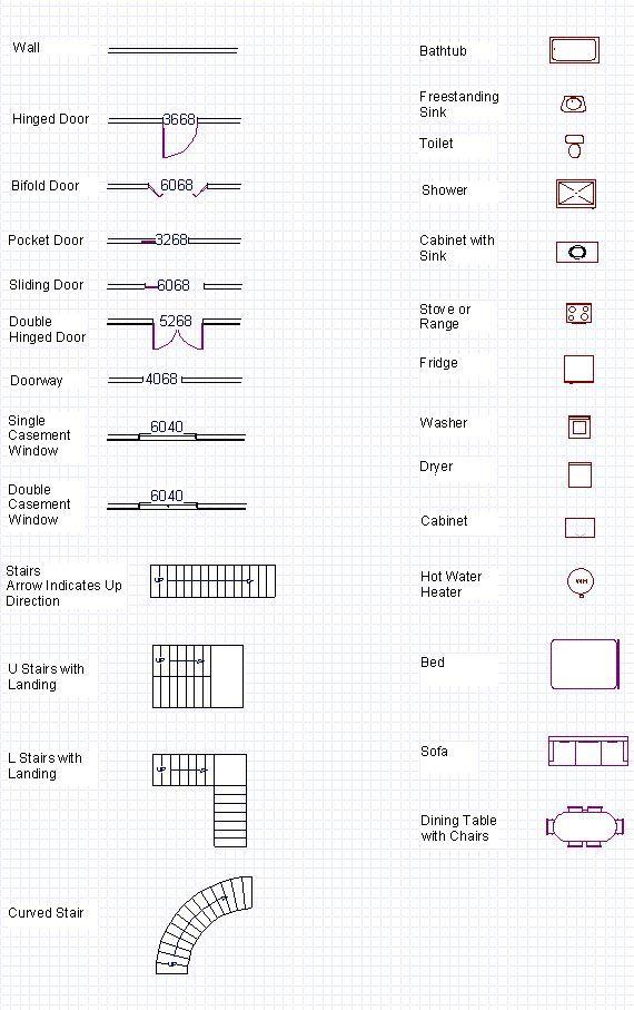Blueprint symbols free glossary floor plan symbols for blueprint symbols free glossary floor plan symbols for engineer requirement 2 and malvernweather Gallery