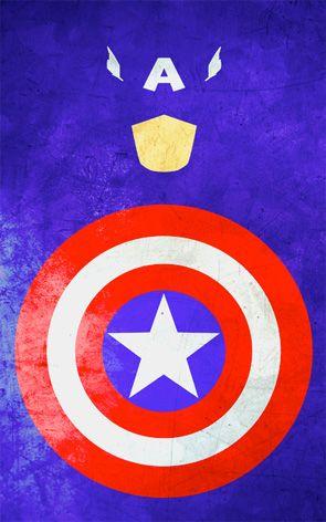 Captain America...para nuestro nidito de amor jaja @Oss14