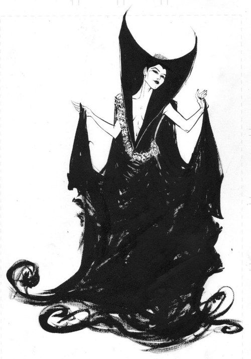 Legend The Darkness Costume Dress Is Given Her As A Present By The