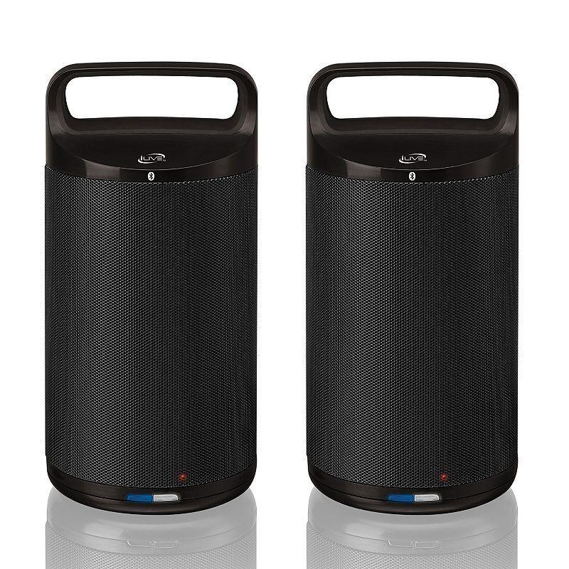 iLive Bluetooth Indoor Outdoor Wireless Speaker System, Multicolor
