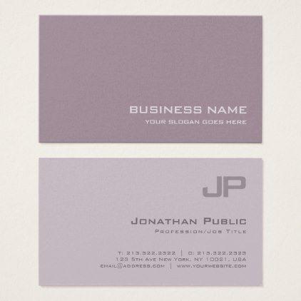 Elite monogram plain luxury pearl finish salon business card elite monogram plain luxury pearl finish salon business card stylish gifts unique cool diy customize reheart Choice Image