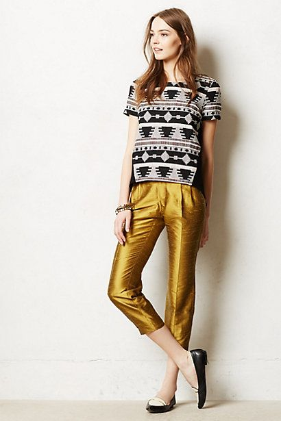 Lumi Trousers #anthropologie