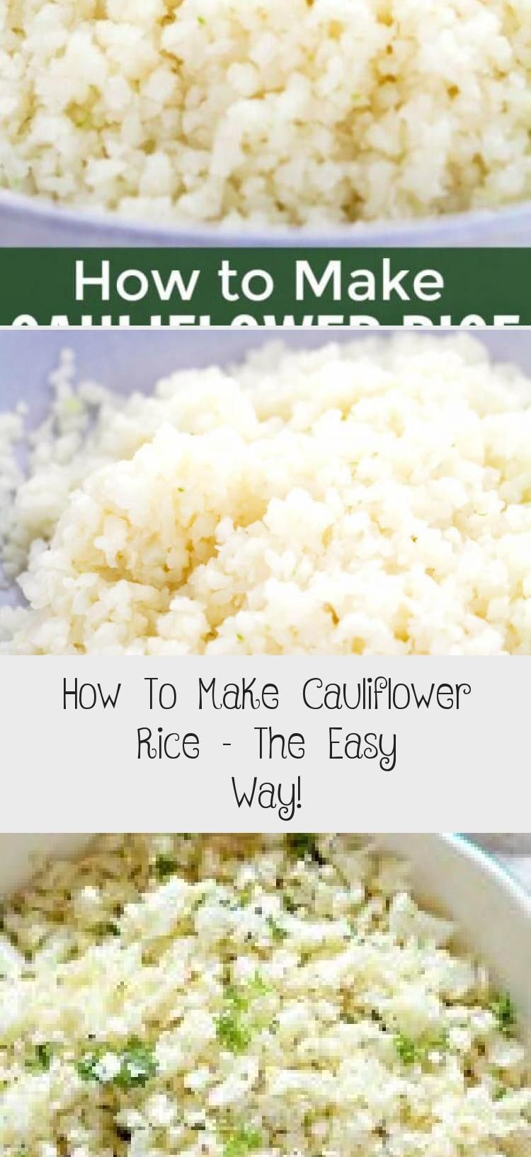 Missing Rice While On The Keto Diet Cauliflower Rice Is One Of The Most Satisfying Low Carb In 2020 Easy Cauliflower Rice Recipe Low Carb Side Dishes Cauliflower Rice