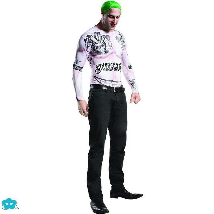 Disfraz de Joker Escuadrón Suicida para hombre  a85ad9a7739