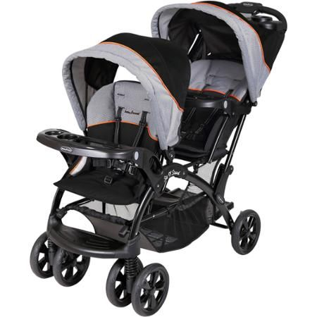 Baby Trend Sit N Stand Double Stroller Millennium Orange
