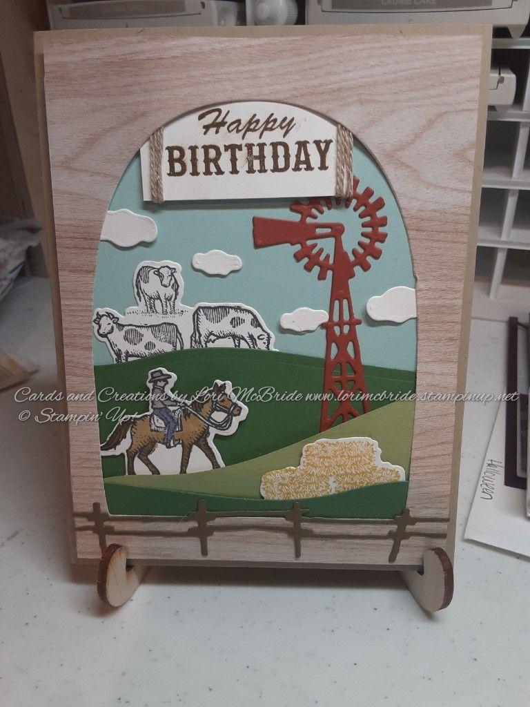 Ride The Range Birthday Card