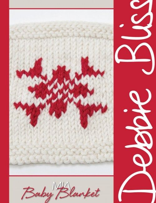 Mia - 'Advent' Baby Blanket from by Debbie Bliss at ...