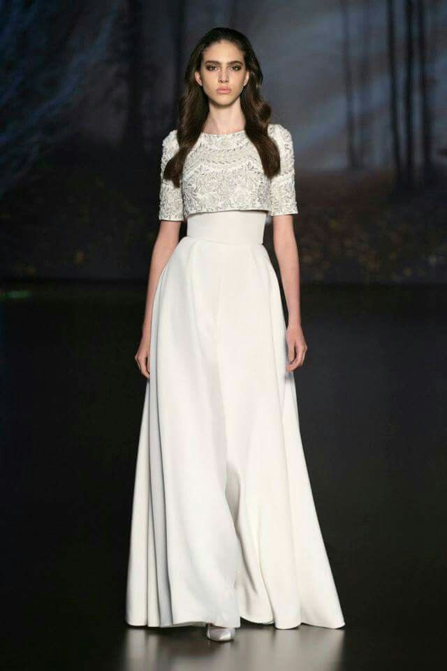 2c4a63bf4450d Love the embroidered crop top and palazzo pants