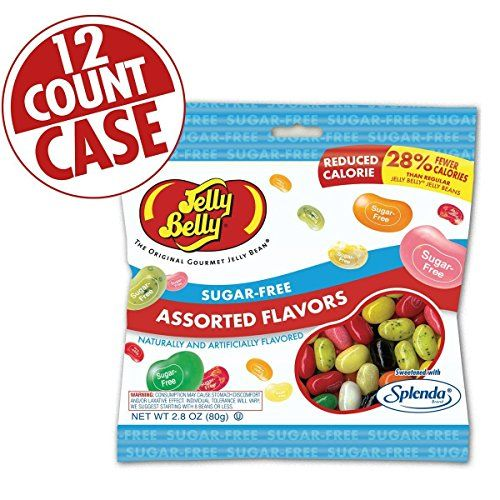 Jelly Belly Sugar Free Beans - Assorted 12 CT Case