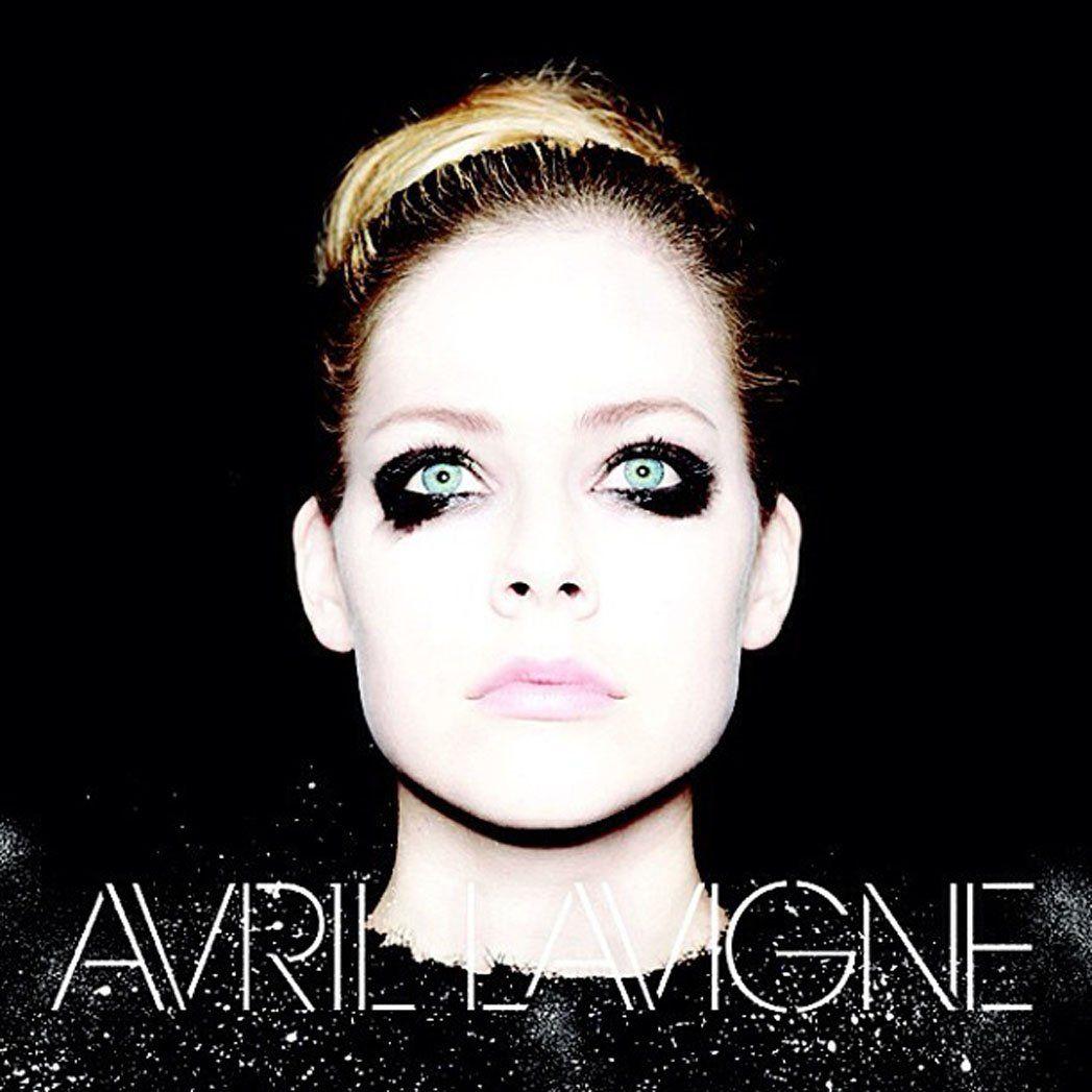 Avril Lavigne Reveals Dark Self Titled Album Cover Art Photo Avril Lavigne Album Covers Album