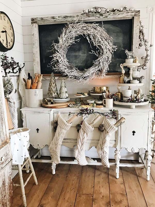 29 Fresh Farmhouse Christmas Decor Ideas