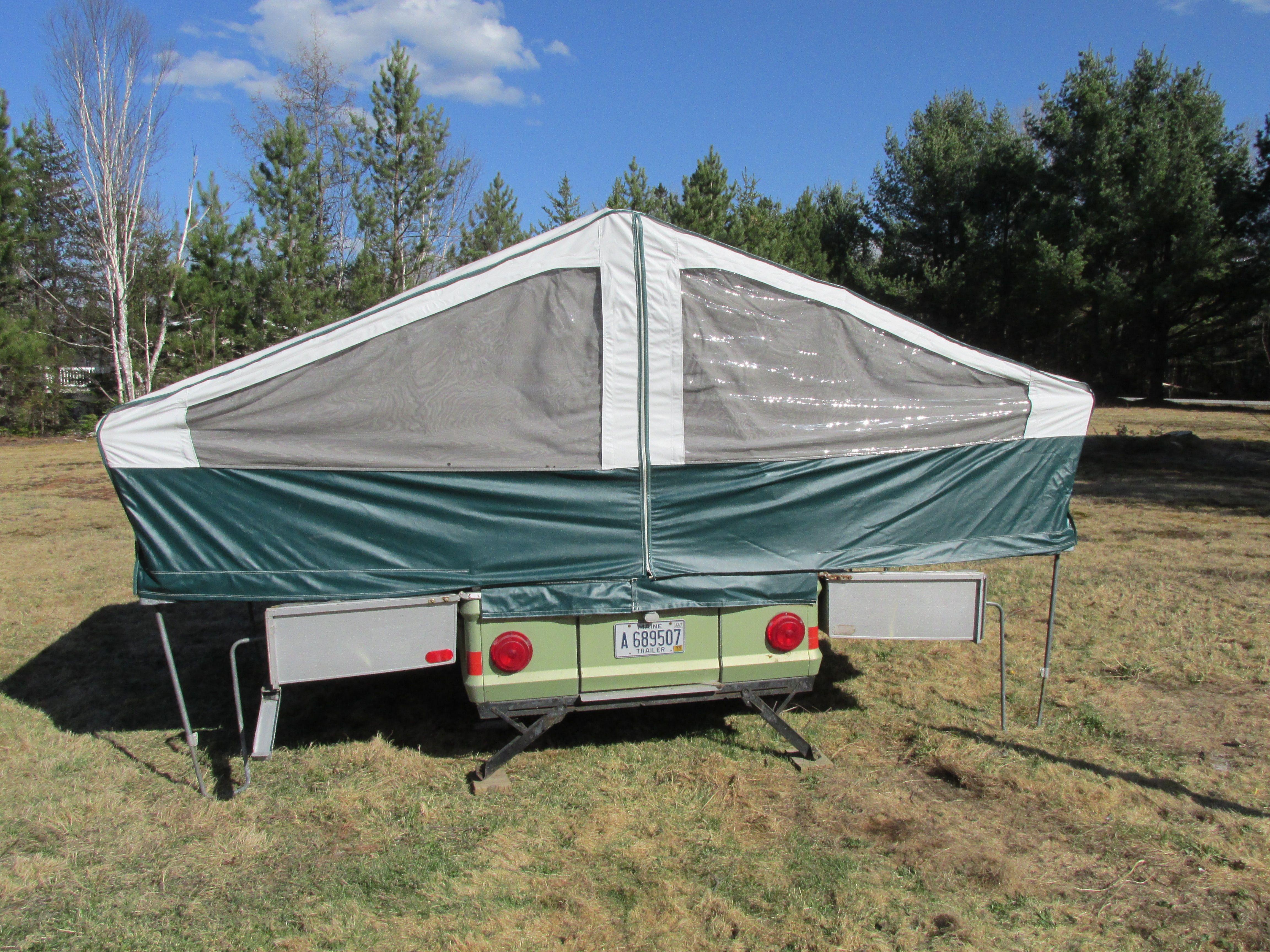Apache Eagle Pop Up Camper Pop Up Camper Trailer Comfortable