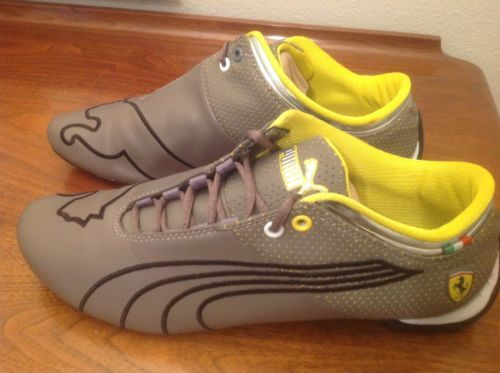 34c35dd9e51c82 Puma Ferrari Eco Ortholite Athletic Sneakers Shoes Gray 30466603 Men s 10.5  Athletic Shoes