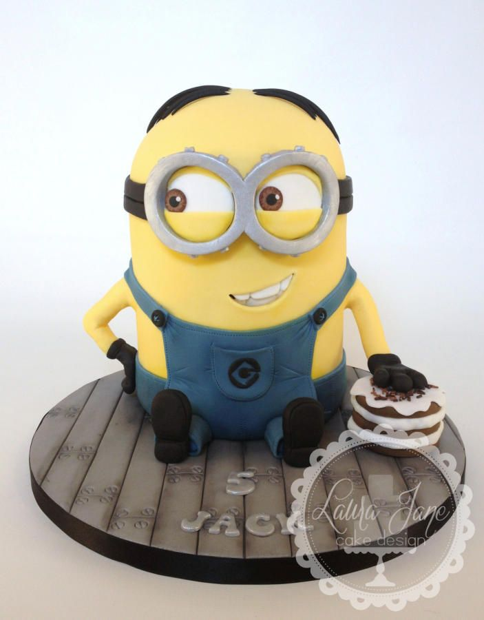 My First Minion Dave Cakes Cake Decorating Daily