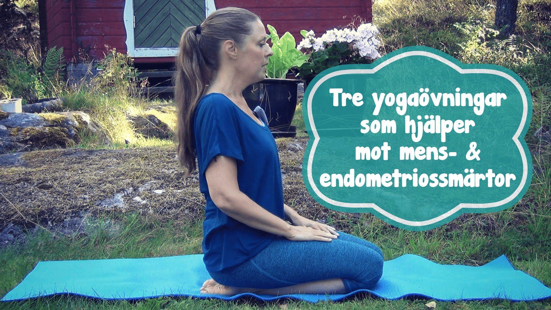 Tre yogaövningar för mens- och endometriossmärtor - Mediyoga