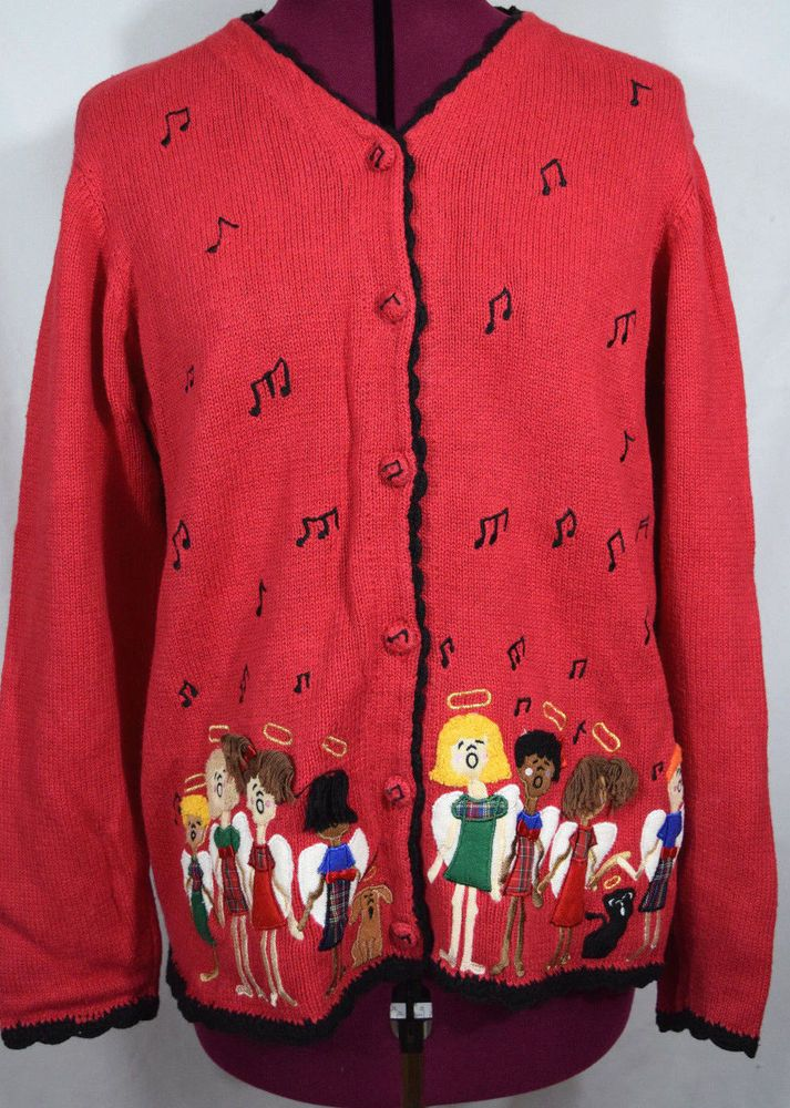 Holiday Sweater Choir Teacher Musician Singer Caroler Christmas ...
