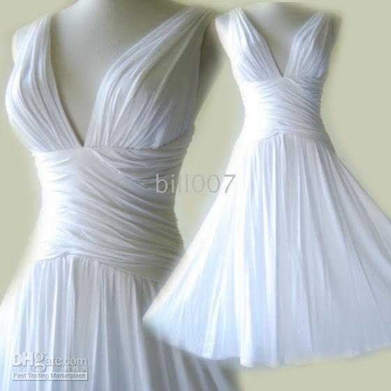 Short White Dress Greek-style