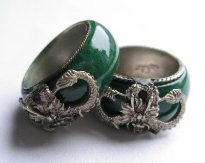 jade wedding rings - Jade Wedding Ring