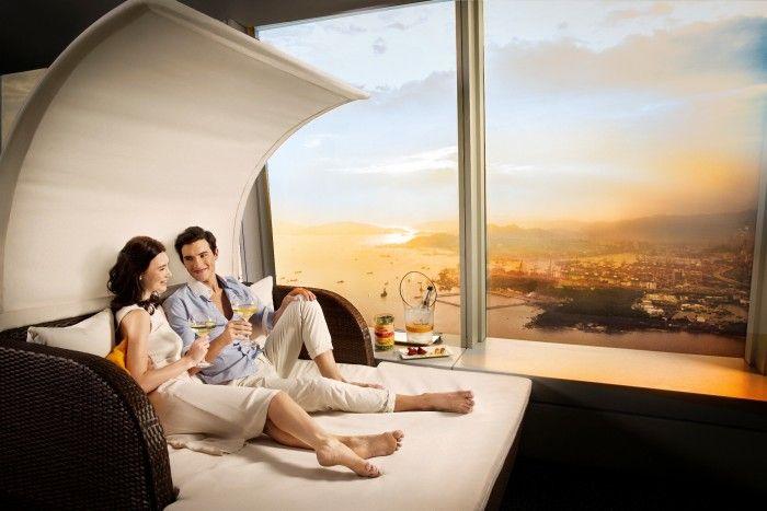 Ritz-Carlton Hong Kong Opens Veuve Clicquot Sunset Lounge 490 Meters Above Sea Level