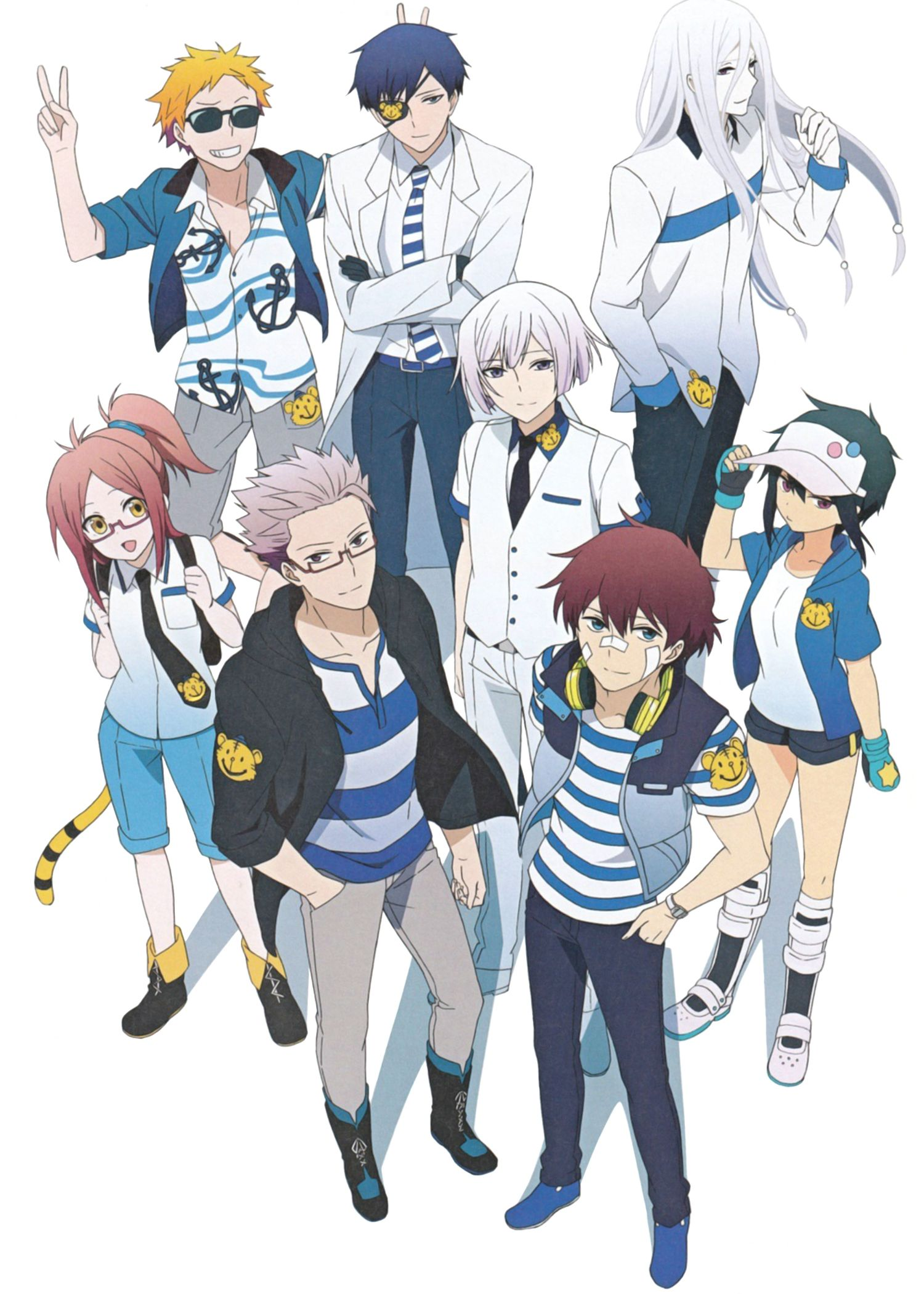 Hamatora 1719771 Zerochan Hamatora Anime Anime Shows