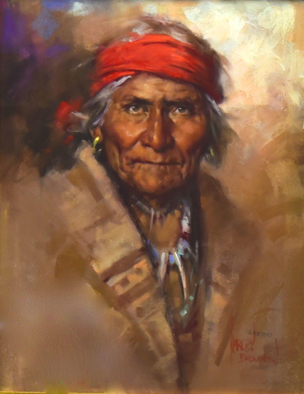 Harley brown basha native american art native