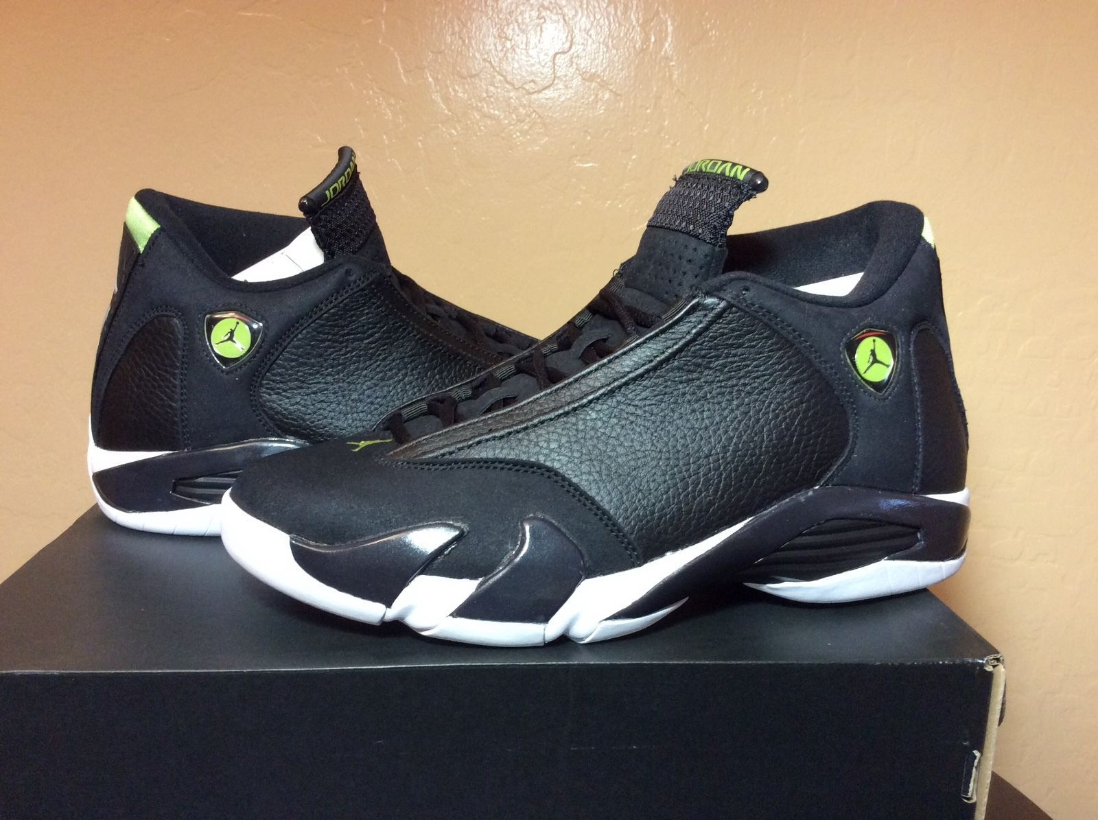 DS Air Jordan Retro 14 Indiglo XIV lot royal shadow bred fragment SBB