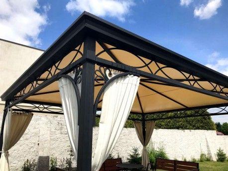 pavillon gartenlaube metallpavillon 4 x 5 m und nach mass abu dhabi pavillon pavillon. Black Bedroom Furniture Sets. Home Design Ideas