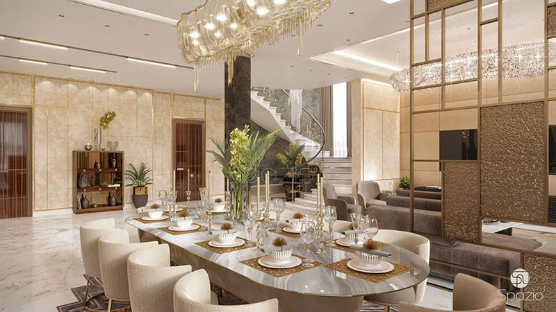 Luxury Modern Interior Design For A Dining Room High End Interior
