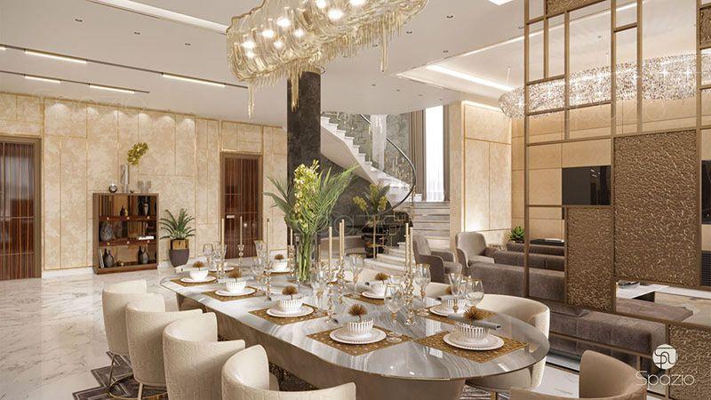 Luxury Modern Dining Room Living Room Interior Design Ideas Homyracks