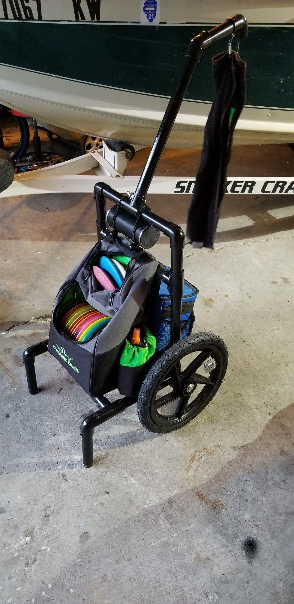 All Terrain Disc Golf Cart Custom Disc Golf Disc Golf