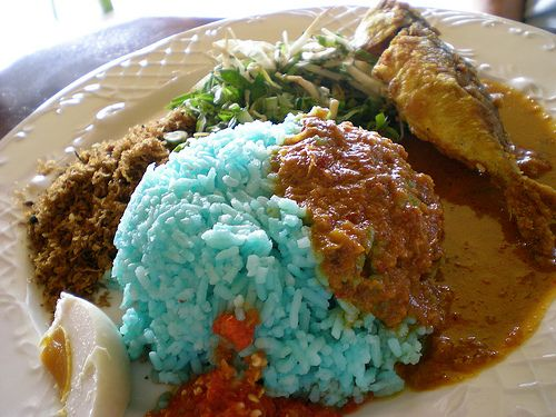Nasi Kerabu Kelantan Koleksi Resepi Emak Makanan Enak Makanan Resep Makanan