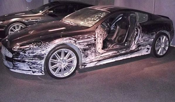 Aston Martin Dbs Quantum Of Solace 2008 James Bond
