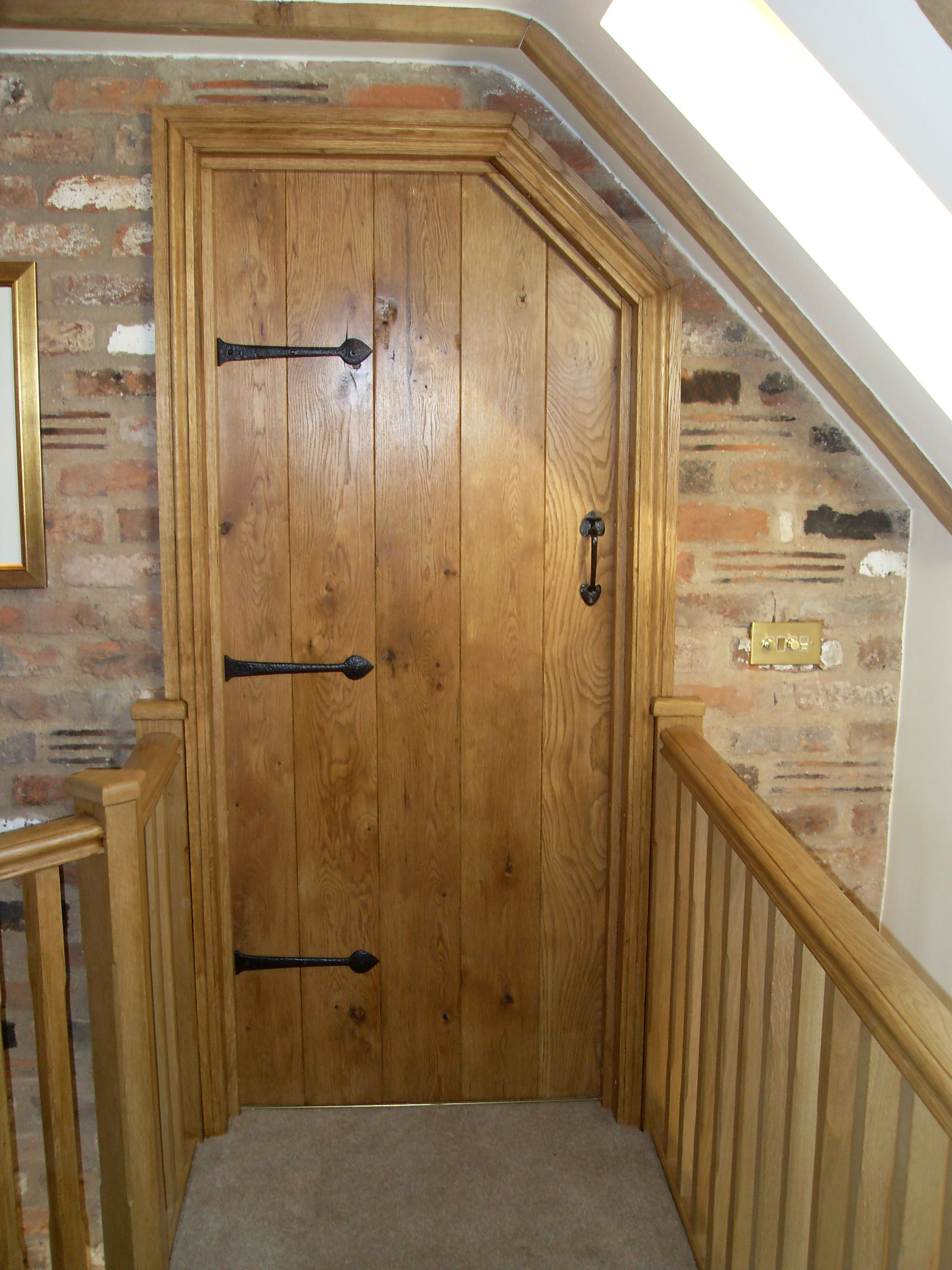 Ledge and brace oak doors - Made To Measure Bespoke Oak Internal Door Pre Finished And Handcrafted By Heritage With Matching