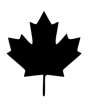 Craft Edge View Topic Canada Maple Leaf Maple Leaf Images Canada Maple Leaf Leaf Silhouette