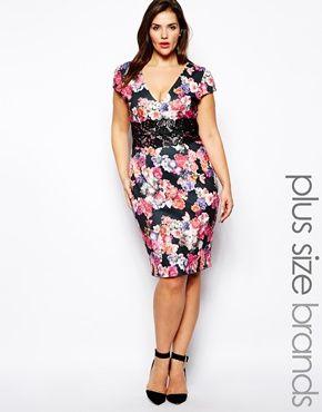 Plus Size Pencil Dress
