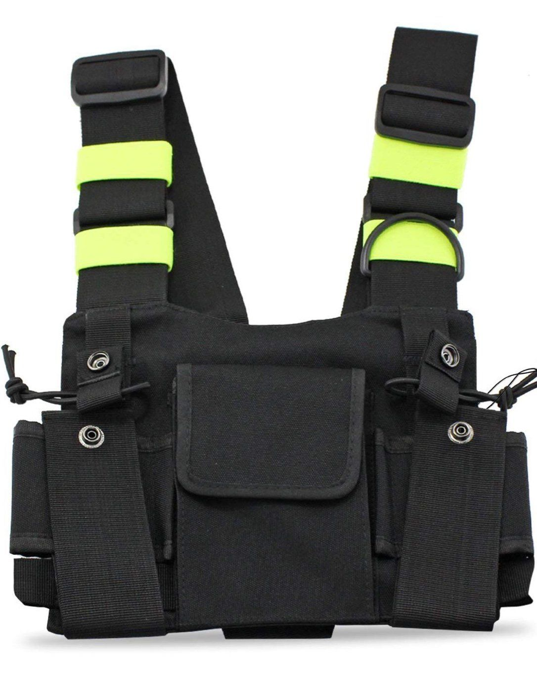 2019 Hip-hop Kanye West Street Ins Hot Style Chest Rig Military Tactical Chest Bag Functional Package Prechest Bag Vest Bag Suitable For Men And Women Of All Ages In All Seasons Luggage & Bags Men's Bags