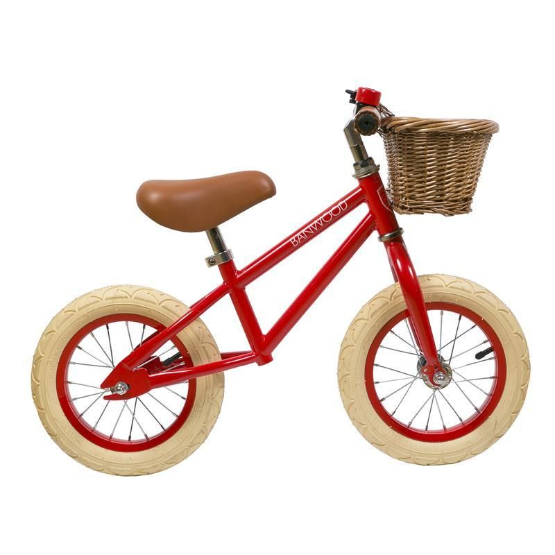 Banwood First Go Red Balance Bicycle Balance Bike Kids Bicycle
