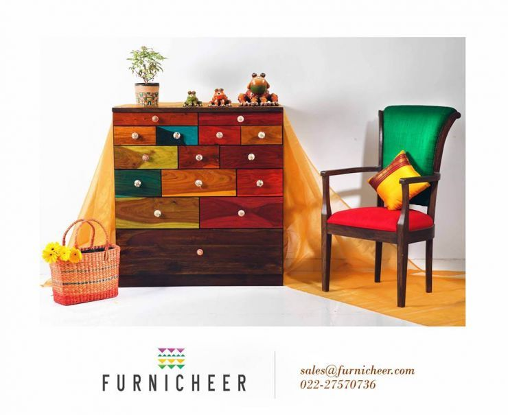 Merveilleux Art Infused Ethnic Furniture   Splendor Of Wood N Silk From FURNICHEER
