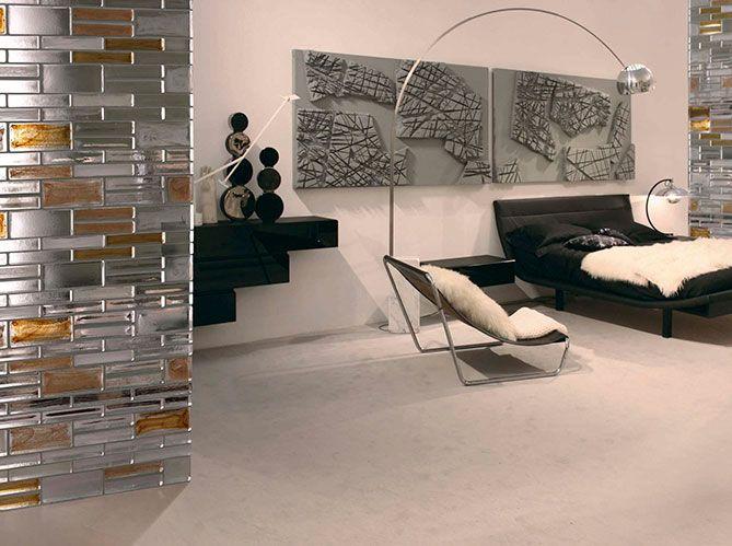 le verre entre en sc ne mur en brique briques et mur. Black Bedroom Furniture Sets. Home Design Ideas