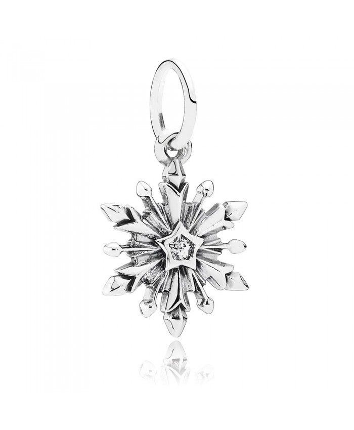 bd6cd5cc1 Ouruora Disney Frozen Snowflake With Clear CZ Pendant | Disney ...
