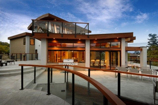 Keith Baker designed the Armada #House, located in Victoria, BC ...