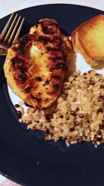Slice of Southern: Grilled Lime Mustard Chicken