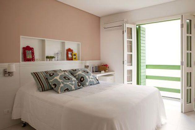 fotos e ideas para pintar una habitacin en dos colores