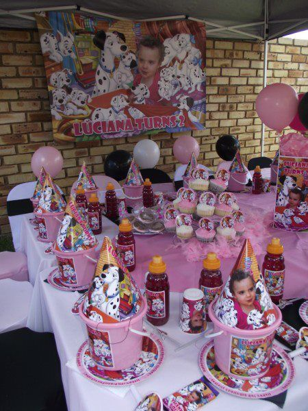 Pin By Kiddies Theme Parties On Party 101 Dalmations 101 Dalmations Party Fireman Sam Birthday Party 2nd Birthday Parties
