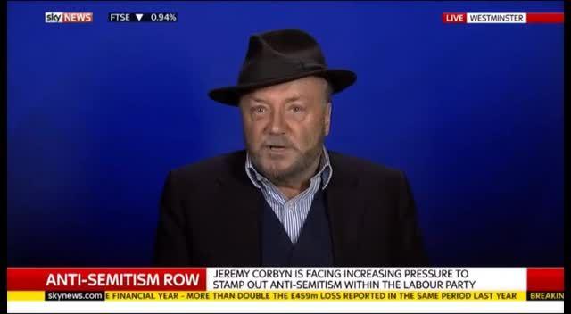 George Galloway defends Ken Livingstone's Hitler comments