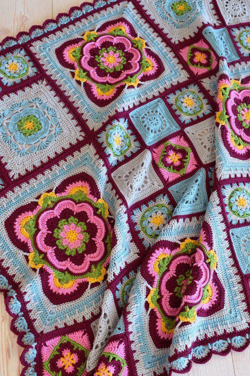 Rose of Avalon - Blanket - Deramores Studio DK – Original Yarn Pack ...