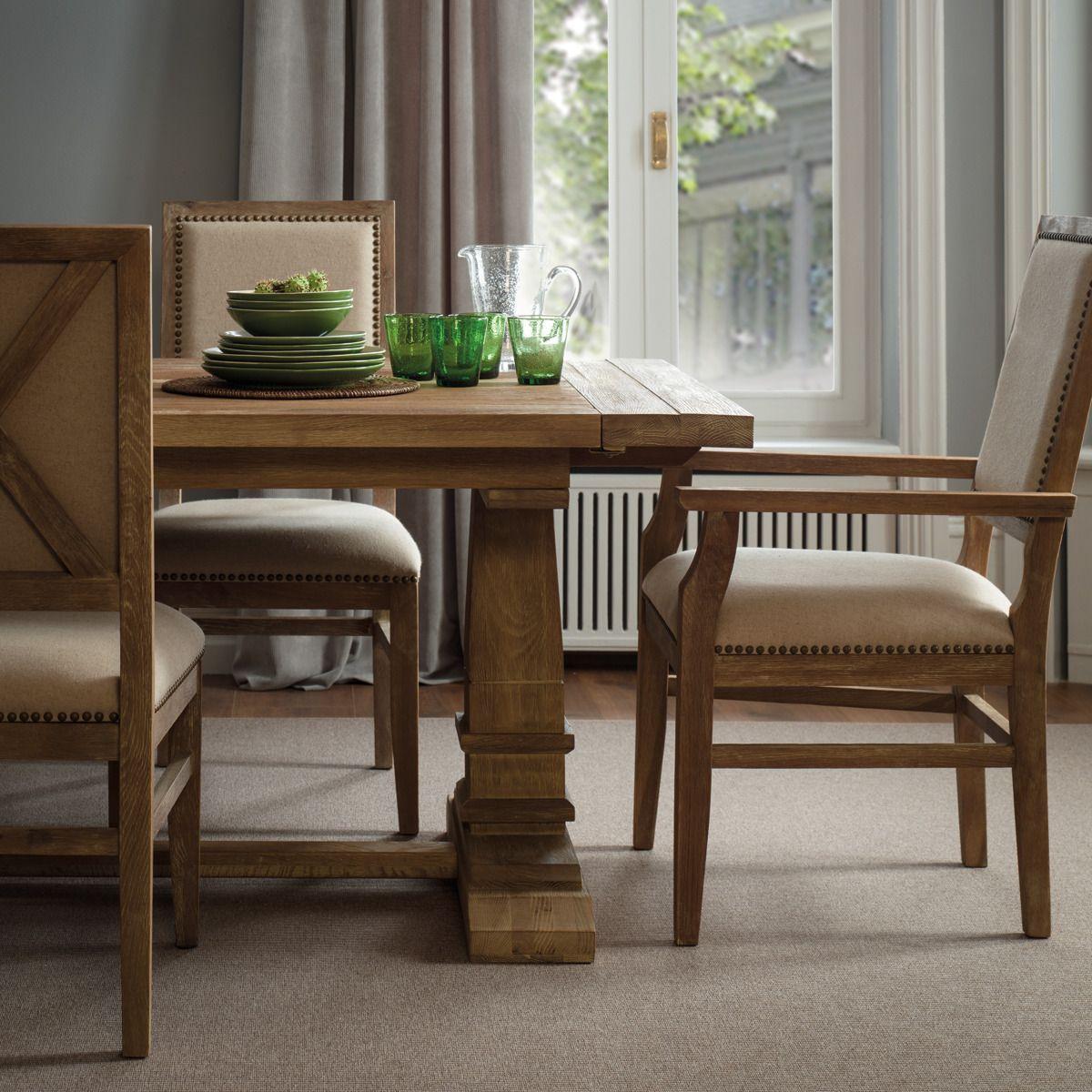 Mesa de comedor extensible de madera Vintage | HOGAR | Pinterest